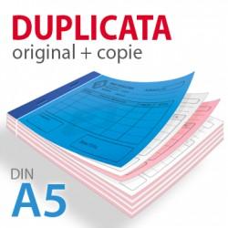 Carnets autocopiants duplicata A5
