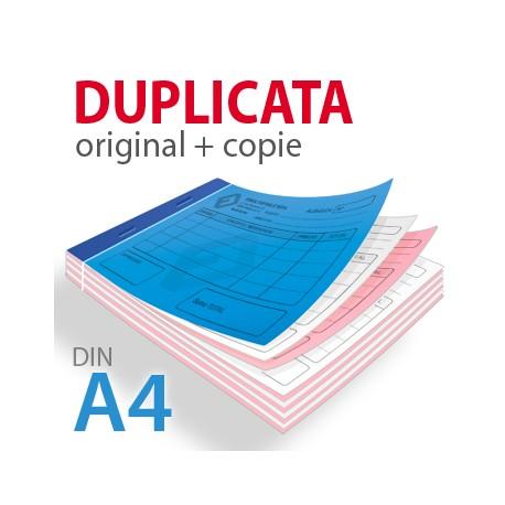 Carnets autocopiants duplicata A4
