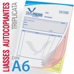 Liasses Autocopiantes Triplicata A6
