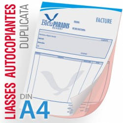 Liasses Autocopiantes Duplicata A4