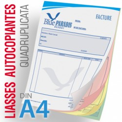 Liasses Autocopiantes Quadruplicata A4