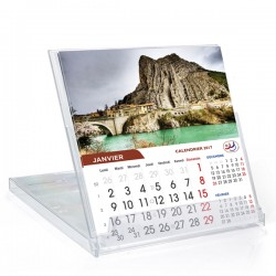 Calendrier  boîtier cd grand