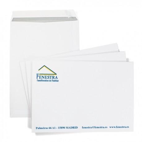 Enveloppe à pochette format